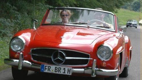 Mercedes 190SL/Oldtimer/Cabrio/Mercedes Benz/Hochzeitsauto/Klassiker