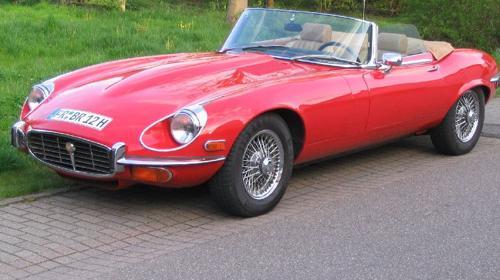 Jaguar E-Type V12 Roadster/Oldtimer/Cabrio/Jaguar/Hochzeitsauto/Klassiker