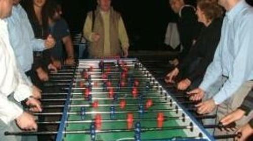 Tischfussball, Tischkicker mieten, leihen, verleih