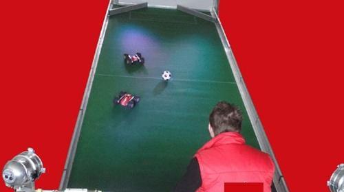 Fussball, Autoball Arena leihen, mieten, verleih