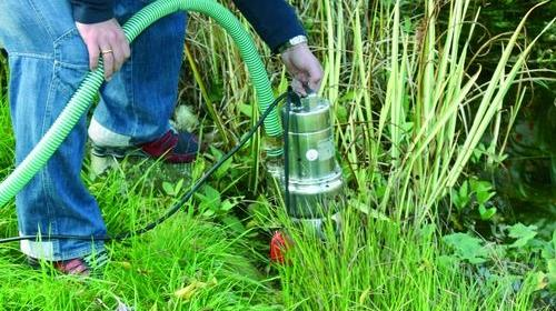 Schmutzwasserpumpe 17.000 l/h, Elektro