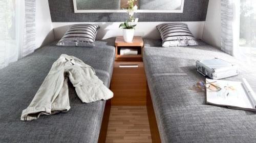 Wohnwagen Style 450 E für 2-4 Personen