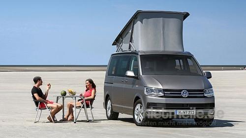 VW T6 California Klima Frühbucher 2018
