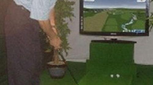 Minigolf & Bürogolf am Golfsimulator