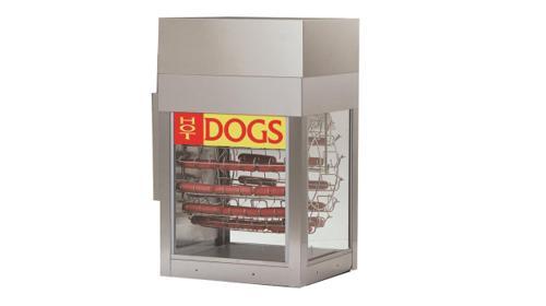 Hot Dog Karussell Dogeroo Standard Mieten Hot Dog STEAMER Mieten