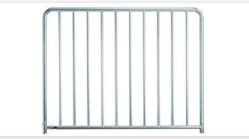 Stabsicherheitsgeländer / Bühnengeländer für Nivtec höhe 110cm breite 185cm