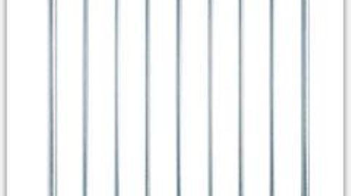 Stabsicherheitsgeländer / Bühnengeländer für Nivtec höhe 110cm breite 85cm