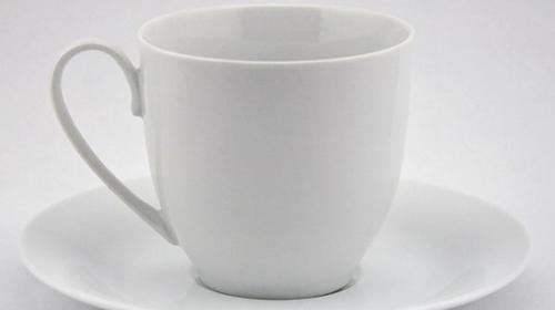 Kaffeetasse / Porzellantasse / Tasse / Untertasse