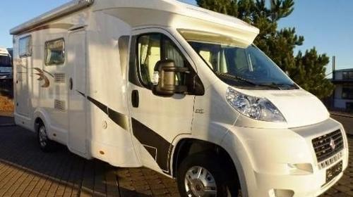 EURA Profila EB Teilintegriertes Reisemobil mit Einzelbetten