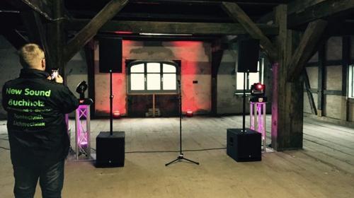 Tontechnik -Vermietung K.M.E. SD 4