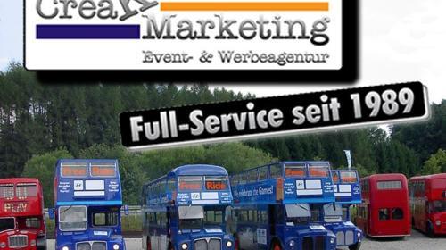 Londonbus, Roadshowbus, Promotionbus