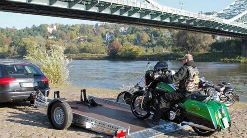 Motorradanhänger STEMA WOM1300 absenkbar
