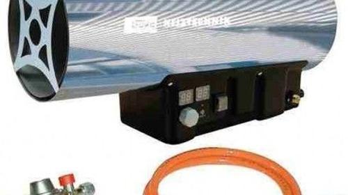 Zeltheizung / Gasheizgebläse mit Thermostat