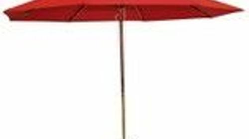 Sonnenschirm rund Ø 3m, inkl. Fuß