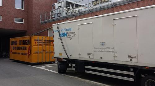 Stromerzeuger Superschallgedämpft 500 kVA