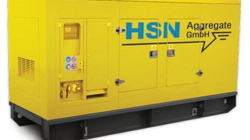 Stromaggregat 1000 kVA Container schallgedämpft