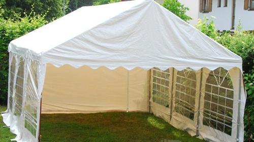 PVC Partyzelt, Gartenzelt 4m x 6m