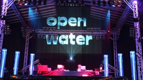 Wasserleinwand, Wasserfall, Wasserwand, Waterscreen