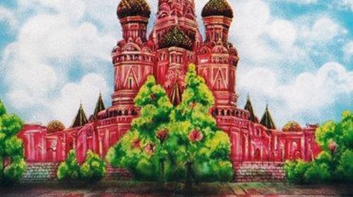 Moskau Kulisse, Moskau, Russland, Kulisse, Dekoration, russisch, Kirche, Kathedrale, Event, Messe, Veranstaltung
