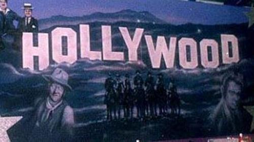 Hollywood Kulisse, Hollywood, Kulisse, Hollywood Hills, Los Angeles, Dekoration, Stars, Walk of Fame, Event, Messe