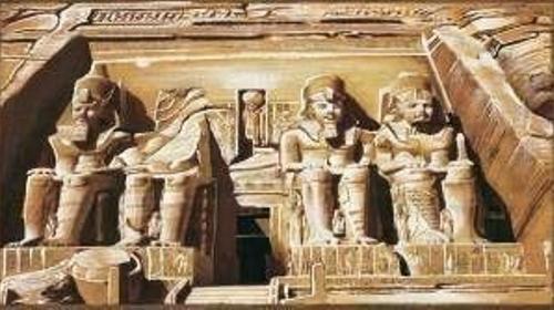 Tal der Könige Kulisse, Kulisse, Tal der Könige, Orient, orientalisch, ägyptisch, Ägypten, Pyramide, Könige, Pharao