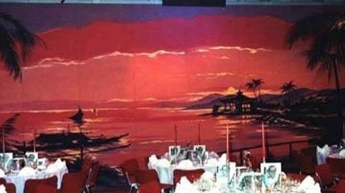 Strand Panorama Kulisse, Kulisse, Panorama, Strand, Beach, Küste, Meer, Ozean, Sonnenuntergang, Brasilien, Rio