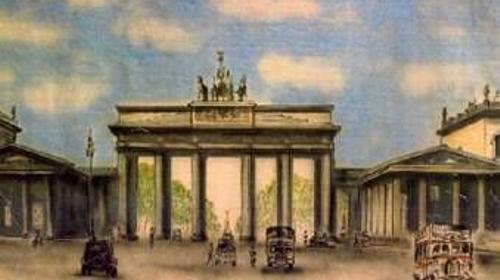 Brandenburger Tor Kulisse 2, Kulisse, Berlin, Brandenburg, Tor, Wahrzeichen,Event, Messe, Veranstaltung, leihen, mieten
