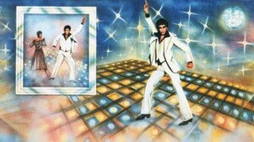 Saturday Night Kulisse, Kulisse, Dekoration, Night Fever, Night Life, Dancer, Tanz, Tänzer, Tanzen, Dancefloor