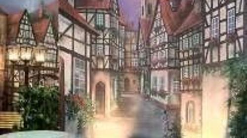 Altstadt Gasse Kulisse, Gasse, Altstadt, Stadt, Kulisse, Fachwerk, Fachwerkhaus, Haus, Dekoration, Veranstaltung, Party