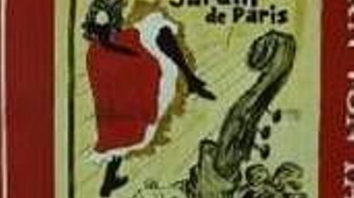 Frankreich Unter den Dächern von Paris Kulisse, Jardin de Paris, Kulisse, Paris, Frankreich, französisch, France