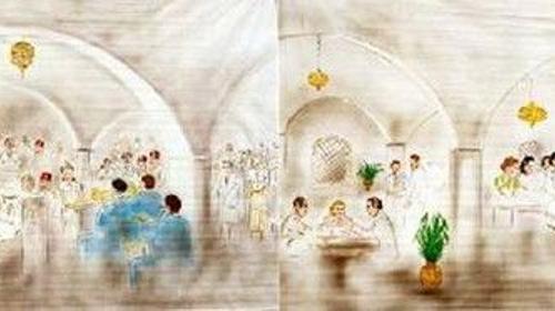 Casablanca Kulissen, Kulisse, Casablanca, Dekoration, Marokko, Afrika, Event, Messe, Veranstaltung, leihen, mieten