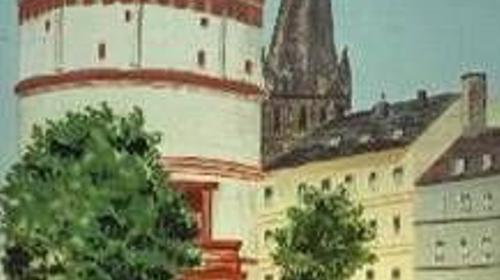 Düsseldorf Schlossturm Kulisse, Kulisse, Düsseldorf, Schloss, Turm, Schlossturm, Turmkulisse, Schlossturmkulisse