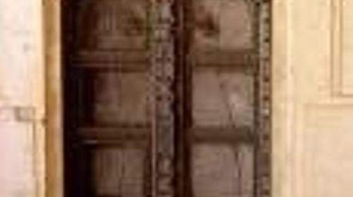 Tür Umrandung Kulisse, Ägypten, ägyptisch, Rahmen, Türrahmen, Torrahmen, Orient, orientalisch, Maurisch, 1001 Nacht