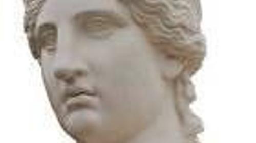 Athene Kopf, Frauenkopf, Kopf, Athene, Göttin, Gottheit, Mythos, Mythologie, Griechenland, griechisch, Antik