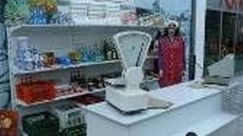 DDR  Kaufladen komplette Ausstattung, 50er/60er Jahre, DDR, Kaufladen, Laden, Kiosk, Osten, Berliner Mauer, Dekoration