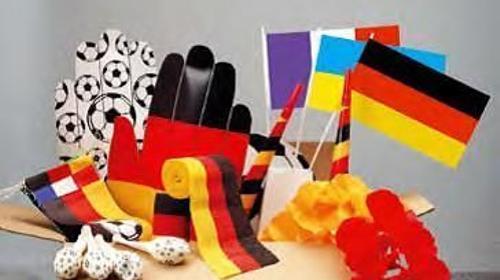 Fußball Fanpaket, Fussball, Fan, Fussballfan, Fußballfan, Fanartikel, Paket, Deutschland, Nationalmannschaft, WM