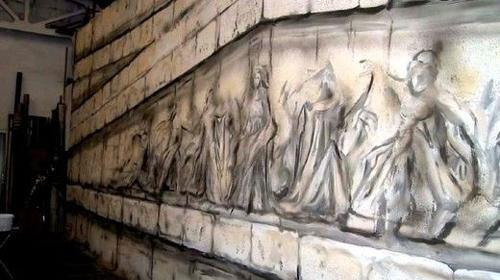 Tempelgiebel, Giebel, Tempel, Tempelanlage, Griechenland, Antik, Säulentempel, griechisch, Anlage, Dekoration, Event