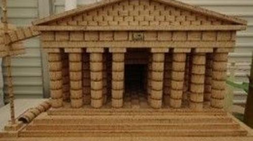 Griechisches Pantheon, Pantheon, Griechenland, Antik, Griechisch, Tempel, Tempelanlage, Säulentempel, Dekoration, Event