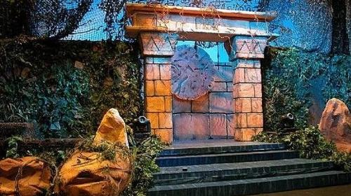 Inka Tempel Eingangsportale, Eingang, POrtal, Inka, Tempel, Tempelanlage, Tempeleingang, Dschungel, Maya, Azteken