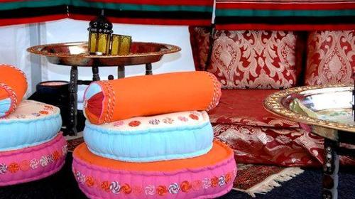 Orientalische Sitzkissen, Sitzkissen, Kissen, Orient, orientalisch, 1001 Nacht, Ägypten, ägyptisch, Sitzen, Polster