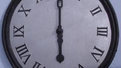 Ziffernblatt XXL , XXL Uhr, Uhr, Ziffernblatt, Kirchuhr, Kirchturmuhr, Event, Messe, Veranstaltung, leihen, mieten
