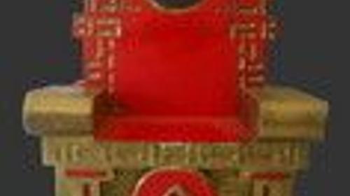 China Thron, China, Thron, Kaiser von China, Kaiserstuhl, Kaisersessel, Königssessel, Asia, Asien, Dekoration, Event