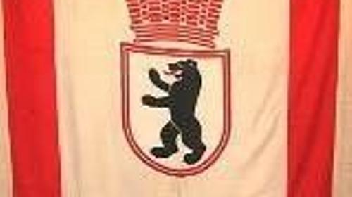 Flagge Berlin, Berlin, Flagge, Wappen, Berliner Wappenflagge, Wappenflagge, Fahne, Wappenfahne, Symbol, Dekoration