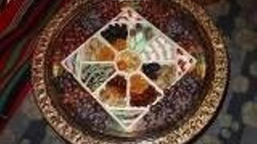 Orientalische Dekorationsobjekte, Schalen, Orient, orientalisch, Teller, Tablett, Dekorationsobjekte, Messingschalen