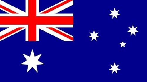 Australische Nationalflagge, Nationalflagge, Flagge, Australien, australisch, Fahne, Nationalfahne, Dekoration, Party