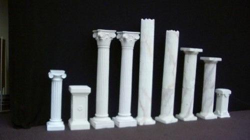 Griechische Säulen, Säulenstumpf, Stumpf, Griechenland, griechisch, Säulen, Säule, Tempel, Antik, Tempelsäule