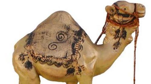 Dromedar Figur, Dromedar, Einhöckrig, Lama, Figur, Dekoration, Einhöckriges Kamel, Höcker, Ägypten, Afrika, Wüste