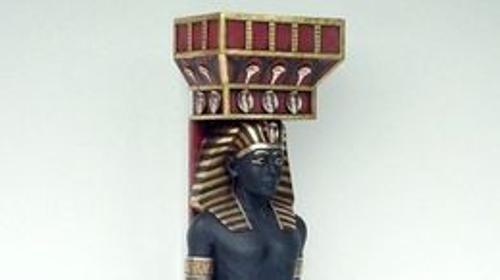 Säulengötter Figuren,Säulen, Säule, Figur, Säulengötter, Götter, Tempel, Tempelwache, Tempelwächter, Wache, Wächter