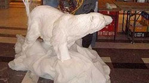 Eisbär Figuren, Eisbär, Figur, Eis, Polarbär, Schnee, Nordpol, Pol, Polar, Eskimo, Inuit, Dekoration, Winter, Event