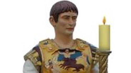 Kaiser Augustus Figur, Augustus, römischer Kaiser ,Kaiser, Figur, Rom, römisch, Antik, Antike, Italien, Feldherr